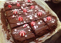 Fudge brownie navideño