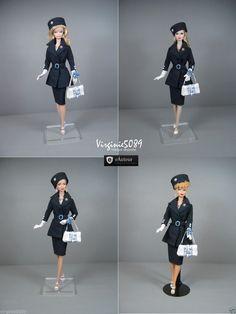 Tenue Outfit Accessoires Pour Fashion Royalty Barbie Silkstone Vintage 1420   eBay