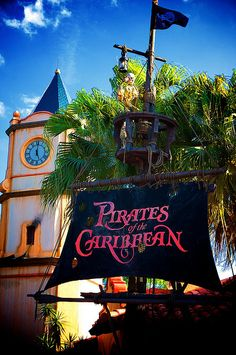 Magic Kingdom - Pirates of the Caribbean by Matt Pasant, via Flickr