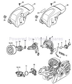 Stihl MS 291 Chainsaw Parts Diagram, Air baffle Chainsaw Parts, Diagram, Ms, Fictional Characters, Board, Gardening Tips, Sign, Planks