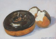 Donut artwork for kitchen