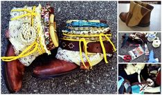 Boho Belted   14 DIY Boots That Were Made For Walking