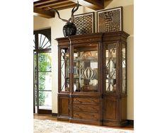 Thomasville Furniture Ernest Hemingway Green Hills Dining China Cabinet SAVE 60%