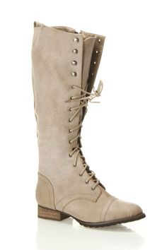 Outlaw lace up boots / Breckelle