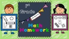 This Math Homework - 1st Grade - 4th Quarter is a great weekly homework packet that will review all common core strands on a weekly basis.  It is very kid-friendly, easy to read, examples are given for most problems, and it's packed with real work...not just time-wasting work.