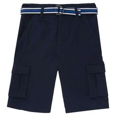 French Toast Boys' Cargo Short 14 - Navy (Blue), Boy's