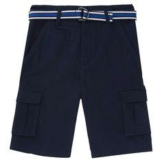 French Toast Boys' Cargo Short 18 - Navy (Blue), Boy's