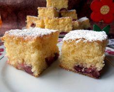 Csilla konyhája, mert enni jó!: Meggyes sütemény- Egyensúly tésztából