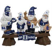Duke Blue Devils Fan Gnome Bench