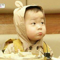 Baby face of Minguk Superman Baby, Cute Kids, Cute Babies, Song Il Gook, Song Daehan, Song Triplets, My Bebe, Asian Babies, Dream Baby