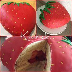 Tutorial Erdbeere Torte