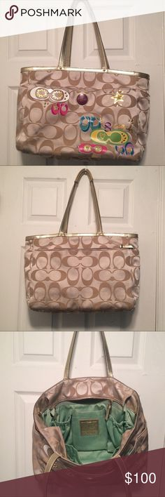 COACH BAG Gently used coach tote Coach Bags Totes
