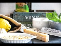 Pesto Fatto in Casa-Homemade Pesto Homemade Pesto Sauce, Pasta, Camembert Cheese, Fresh, Recipes, Food, Kitchens, Recipies, Essen
