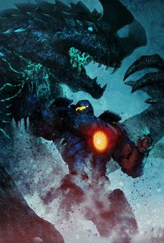 Kaiju Crush in Pacific Rim Wallpapers in jpg format for free download