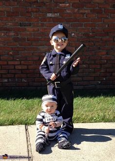 Brotherly Love - Fun Halloween Costume Idea for Kids
