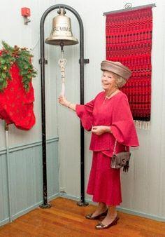 Dutch Princess Beatrix opens the 90th Christmas market in the Norwegian Church in Rotterdam, 13.11.2014.