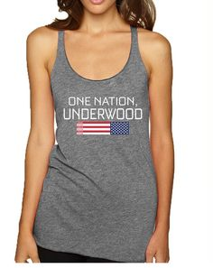 Women's Tank Top House Of One Nation Underwood Cool Top  #america #women #july4th #holiday #tanktop