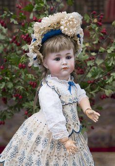 Редкая немецкая кукла Mein Liebling, модель 117, 43 см, 1912г. - на сайте антикварных кукол.