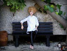 Grettel #jswdolls #doll #ooak #ooakdoll #ooakdollrepaint #repaint #repaintdolls #dollphoto #fashiondoll #mattel #barbie #barbiedoll #barbiecollector #clearlan #freackles