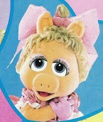 Full-body puppets/costumes based on Miss Piggy that have been created for the various stage shows and public appearances. Miss Piggy, Full Body Puppets, Puppet Costume, Muppet Babies, Princess Peach, Teddy Bear, Retro, Toys, Fictional Characters