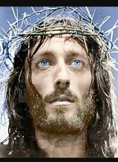 Robert Powell as Jesus of Nazareth 1977 White Jesus, Black Jesus, John Wilson, Oh Glorious Day, Jesus Our Savior, Jesus Son, Jesus Face, Easter Wallpaper, Pictures Of Jesus Christ