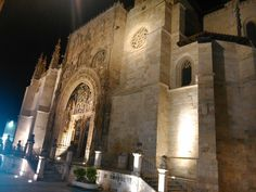 Church santa maria la real, aranda de duero