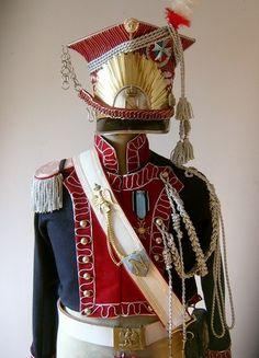 NAPOLEONIC POLISH 1-ST REG. LANCER FULL UNIFORM & SCHAPKA - Imperial Guard