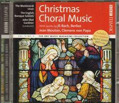 CHRISTMAS CHORAL MUSIC: MONTEVERDI CHOIR /BBC CD (2007) BACH CANTATA BWV 110 ETC #ChristmasChoraleFugueLaudePrelude Christmas Cds, Music Magazines, Conductors, Choir, Bbc, News Songs, Greek Chorus, Choirs, Glee
