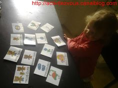 ACTIVITES: Carte de nomenclature boucle d'or