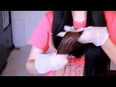 DIY Natural Hair Lightener For Dark Hair  Tutorial 2015