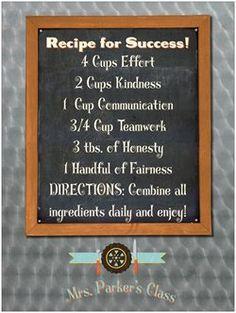 3e84d600d8ea02df92d11a70d66d2c69.jpg (236×313) Recipe for Success