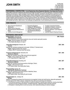 images about best real estate resume templates  amp  samples on    click here to download this maintenance supervisor resume template  http