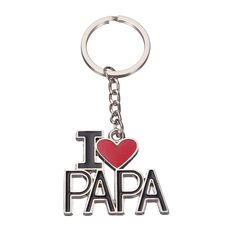 Cheap I Love Papa Alloy Enamel Keychain Best Gift for Father's Day is worthwhile buying, come to NewChic to see other cheap and personalized keychains. Uganda, Sri Lanka, Mauritius, Cook Islands, Seychelles, Sierra Leone, Montenegro, Barbados, Belize