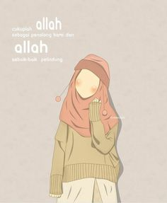 @asma.niin Islamic Posters, Islamic Art, Islamic Love Quotes, Muslim Quotes, Teacher Cartoon, Moslem, Hijab Drawing, Chibi Wallpaper, Islamic Cartoon