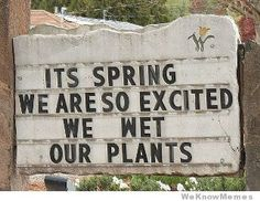 Great spring sign