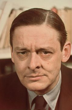 T. S. Eliot /// Although I loved his poetry when I was in college in the early 80s, his shadow over the landscape has been far too long and dark--and it would've been great to see his influence curtailed or ignored by other voices and other poets... AC