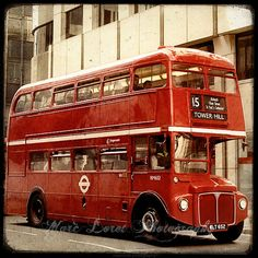 One of the first things I want to do in London! Ride a double decker bus!