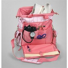 I will need one when clinicals start. But not in pink. Nurse Mates Ultimate Medical Bag in Pink Plaid Cna Nurse, Nurse Bag, Nurse Life, Nurse Humor, Nurses, Nursing Career, Nursing Tips, Nursing Notes, Nursing Scrubs