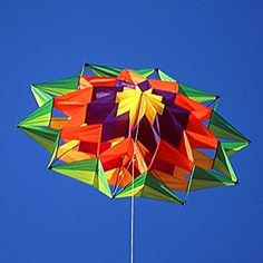 Lotus kite - this little puppy has a lot of pieces, but she sure is pretty!
