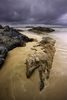 Wickaninnish Rocks, Tofino, British Columbia, Canada by Jason van der Valk O Canada, Canada Travel, Sunshine Coast, Rocky Mountains, Calgary, Places To Travel, Places To Go, Pacific West, Vancouver British Columbia