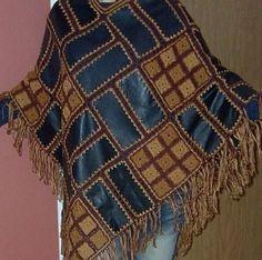 Bayan Örgü Yelek Modelleri - Costura C Costurafacil - Diy Crafts - maallure Strickjacke Vintage Crochet Quilt, Crochet Squares, Crochet Shawl, Crochet Stitches, Knit Crochet, Crochet Fashion, Diy Fashion, Knitting Patterns, Crochet Patterns