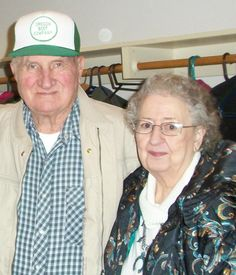 Grandpa and Grandma Mollman.  She passed away 3/29/14.  I will always cherish my memories of her.  She was a wonderful lady is very missed.