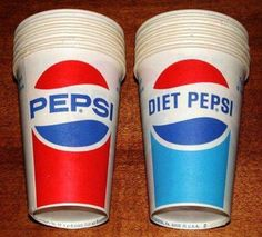 Childhood Memories •~• waxed paper cups
