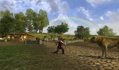 Angry farmer. The Shire. #lotro