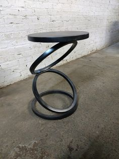 Vanguard Furniture Thom Filicia Solvay Spot Table is part of Vanguard furniture - FEATURES Base is hand forged iron Top is wooden Finished in a burnished silver Note Item is a sample in new condition with no damages DIMENSIONS Accent Table x x Welded Furniture, Iron Furniture, Steel Furniture, Farmhouse Furniture, Home Decor Furniture, Industrial Furniture, Vintage Furniture, Furniture Design, Cheap Furniture