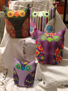 More owls made by Meisha Joy.