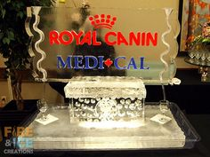 A double luge we made for Sask Association of Vet Techs. It features logos for Royal Canin and Medi-Cal.