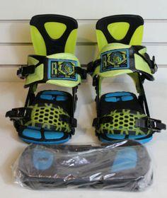 2014 Ride Maestro Snowboard Bindings XL Glow
