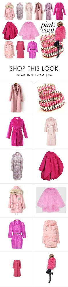 """""""Pink Coat - The Femininity Code"""" by didesi ❤ liked on Polyvore featuring Bullet, Vanessa Bruno, MTWTFSS Weekday, Jil Sander, Pierre Cardin, Gucci and Marni"""