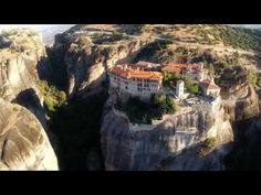 (Video) Three Stunning Minutes of Meteora from Above - The Pappas Post My Father's World, Birds Eye View, Running Away, Filmmaking, Wander, Travel Guide, Grand Canyon, Mount Rushmore, Videos
